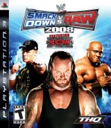 PS3 WWE Smackdown Vs Raw 20081